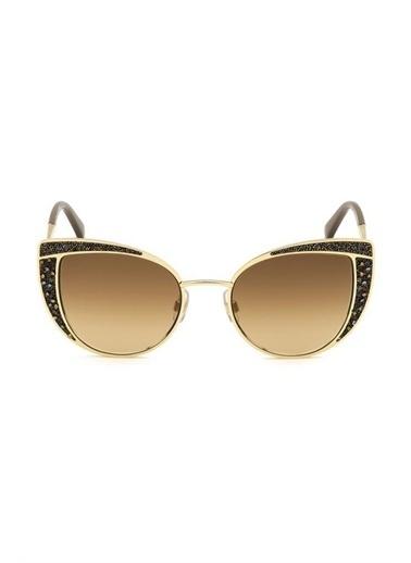 Swarovski Güneş Gözlüğü Altın